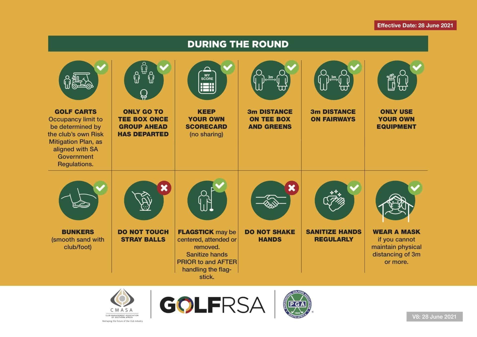 2 - GolfRSA Safety Measures V7 - June 2021