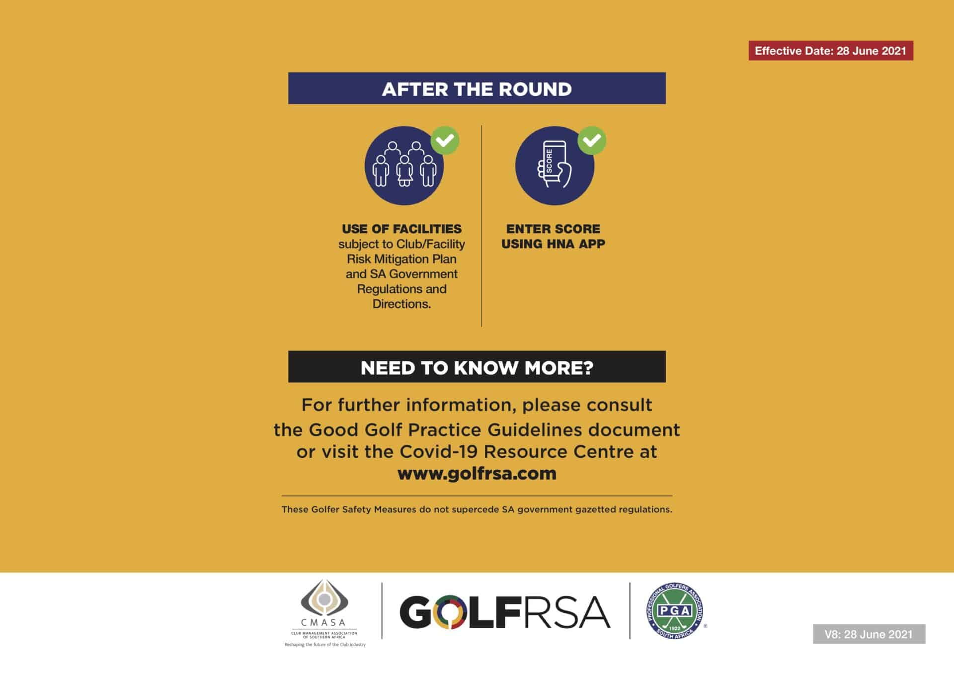 3 - GolfRSA Safety Measures V7 - June 2021