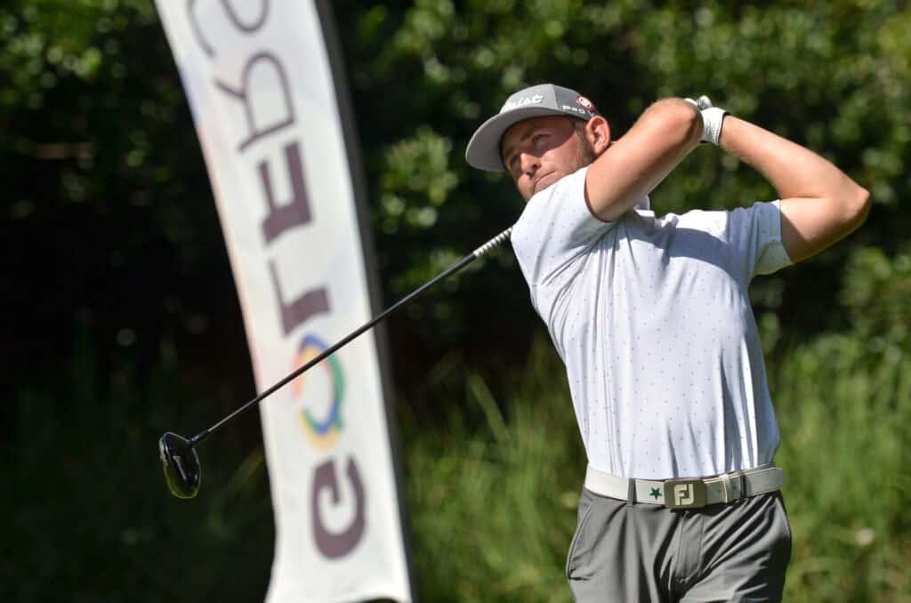 GolfRSA National Squad member Christiaan Burke