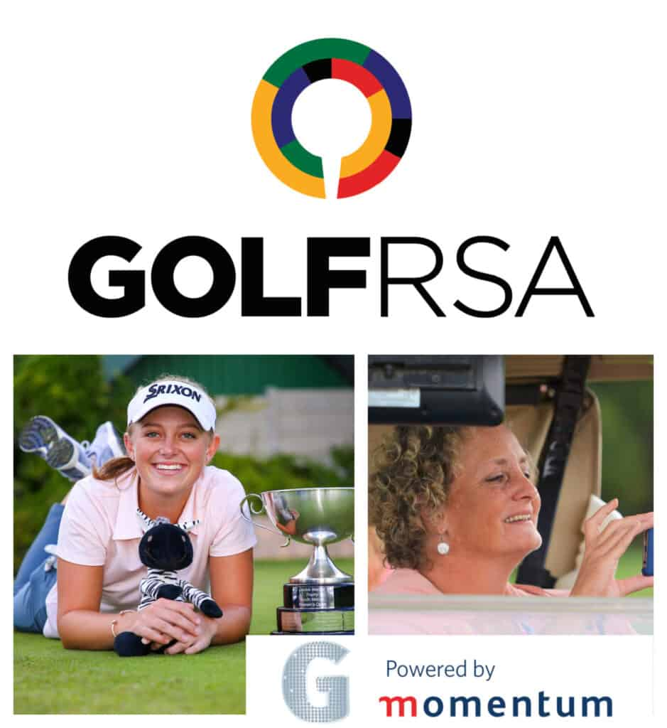 GolfRSA, two-time reigning SA Women's Amateur champion Caitlyn Macnab and GolfRSA media manager Lali Stander made it a hat-trick of finalists for the federation in the 2021 Momentum gsport Awards