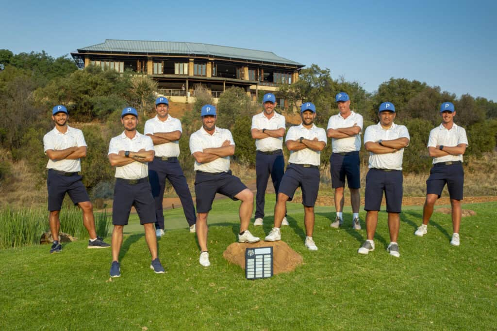 Western Province claimed the 2021 SA Mid-Amateur Inter-Provincial title with a commanding performance at Elements Private Golf Reserve; credit Janine Pretorius